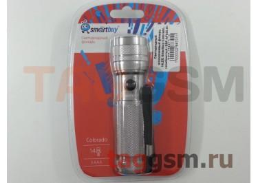 Светодиодный алюминиевый фонарь 14LED Smartbuy Colorado, серебристый (SBF-AF022-S)
