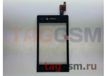 Тачскрин для Sony Xperia miro (ST23) (черный)
