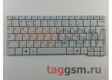 Клавиатура для ноутбука Samsung N102 / N128 / N140 / N145 / N148 / N150 / NB20 / NB30 (белый)