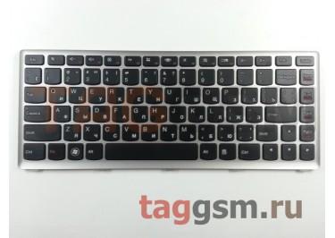 Клавиатура для ноутбука Lenovo IdeaPad U410 (черный)