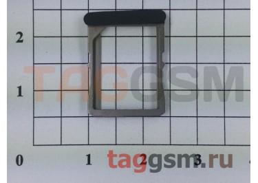 Держатель сим для HTC One X (черный)