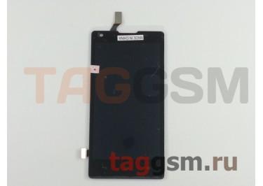 Дисплей для Huawei Ascend G700 + тачскрин (черный)
