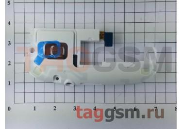 Антенный модуль для Samsung i9300 (с компонентами) + разъем гарнитуры + звонок (белый)