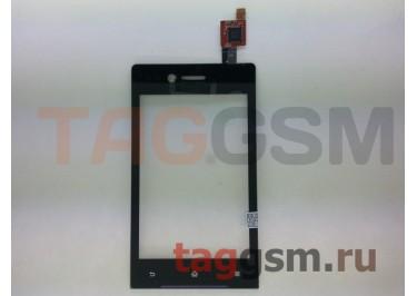 Тачскрин для Sony Xperia miro (ST23) (черный) ориг