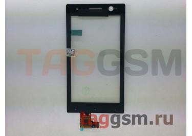 Тачскрин для Sony Xperia U (ST25i) (черный) ориг