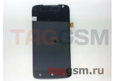 Дисплей для Lenovo S820 + тачскрин (черный)