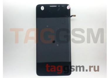 Дисплей для Alcatel OT-6040 / 6040D / 6040x Idol X + тачскрин + рамка (черный)
