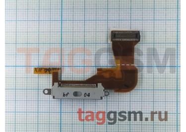 Шлейф для iPhone 3G + разъем зарядки (белый)