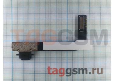 Шлейф для iPad 4 + разъем зарядки (черный)