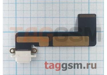 Шлейф для iPad Mini + разъем зарядки (белый)