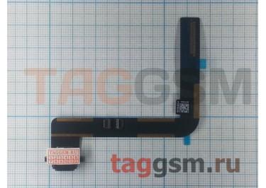 Шлейф для iPad Air + разъем зарядки (черный)