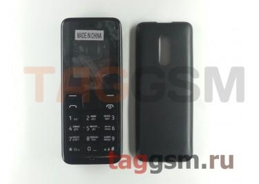 Корпус Nokia 105 со средней частью + клавиатура (черный)
