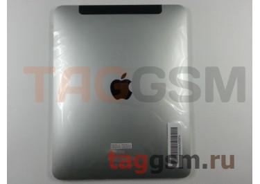 Задняя крышка для iPad 3 3G + держ. сим 32GB (серебро)