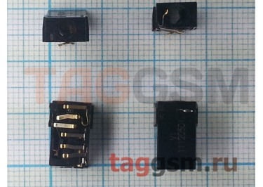 Разъем гарнитуры для Nokia 500 / 700 (3.5mm) ОРИГ100%
