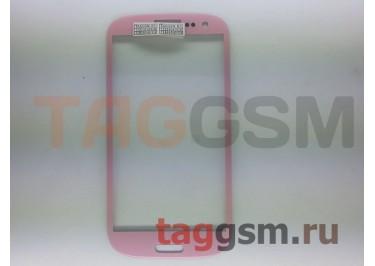 Cтекло для Samsung i9300 (розовый)