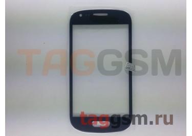 Cтекло для Samsung i8190 (синий)