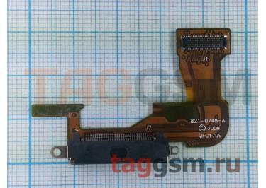 Шлейф для iPhone 3GS + разъем зарядки (черный)