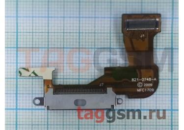 Шлейф для iPhone 3GS + разъем зарядки (белый)