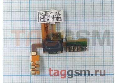 Шлейф для Sony Ericsson U5i с динамиком ORIG100%