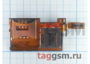 Шлейф для Sony Ericsson K770 / T650 sim+memory slot