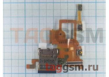 Шлейф для Sony Ericsson LT28 + кнопки громкости, разъем флеш, оригинал
