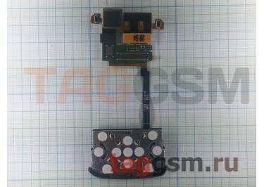 Шлейф для Sony Ericsson W760 Complete под камеру + верхняямембрана