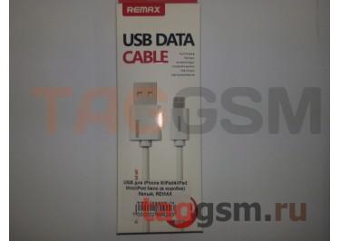 USB для iPhone 6 / iPhone 5 / iPad4 / iPad Mini / iPod Nano (в коробке) белый, REMAX