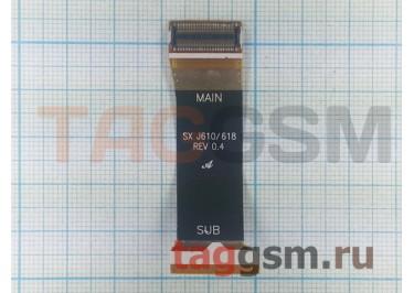 Шлейф для Samsung J610 класс LT