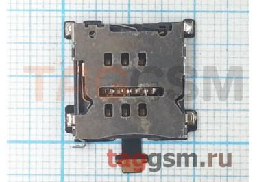 Шлейф для HTC One M7 + считыватель сим