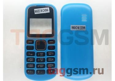 Корпус Nokia 1280 без средней части + клавиатура (голубой)