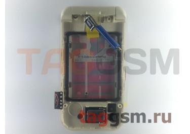 Шлейф для Nokia 7390 в сборе с флипом (белый), ОРИГ100%