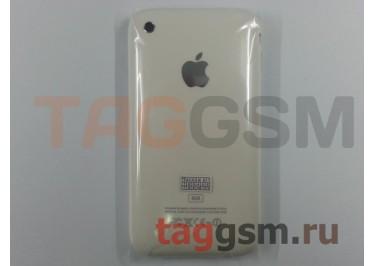 Задняя крышка для iPhone 3G 8GB в сборе с хром.рамкой (белый)