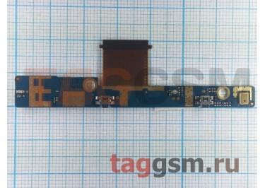 Шлейф для HTC Flyer + кнопки громкости