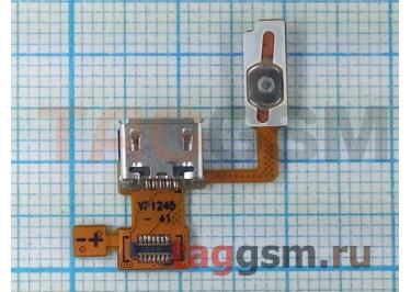 Шлейф для LG P970 + разъем зарядки, ориг