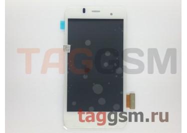 Дисплей для Alcatel OT-6010 / 6010D + тачскрин (белый)