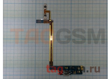 Шлейф для LG P990 Optimus 2X + разъем зарядки + кнопки громкости, ориг