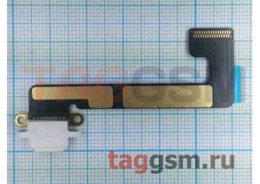 Шлейф для iPad Mini 2 / iPad Mini 3 + разъем зарядки (белый)