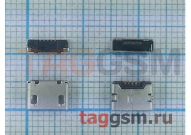 Системный разъем для Nokia 207 / 208 / 220 / 230 / 710 / Asha 500 / 503 / X (microUSB)