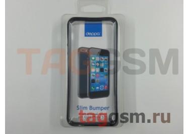 Бампер Deppa Slim для iPhone 5 / 5S (чёрный)