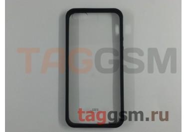 Бампер Crystal на iPhone 5 Черный в упаковке