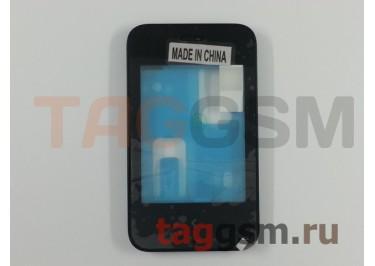 Тачскрин для Nokia 230 (черный) в рамке