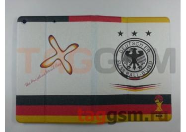 Сумка футляр-книга для iPad 5 Air (Флаг Германии)