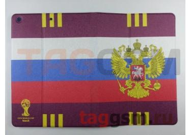 Сумка футляр-книга для iPad 5 Air (Флаг России)