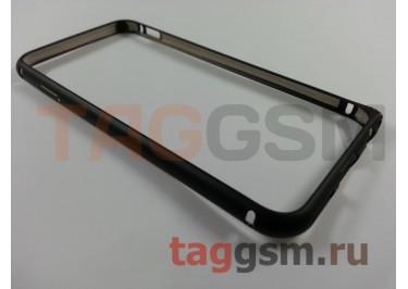 "Бампер Hoco для Apple iPhone 6 (4,7"") металлический (Black (Fedora Series))"