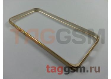 "Бампер Remax для Apple iPhone 6 (4,7"") металлический (Gold)"