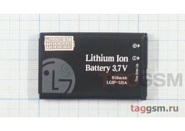 АКБ  LG T500 / GS101 / GB125 / GB100 / GM205 / A170 LGIP-531A ORIG100%