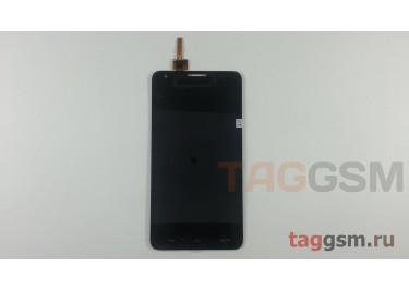 Дисплей для Huawei Ascend Honor 3x (G750) + тачскрин (черный)