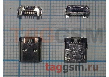 Системный разъем для Nokia 520 / 525 / 530 / 620 / 630 / 730 / 735 / Microsoft 550 (micro-usb)