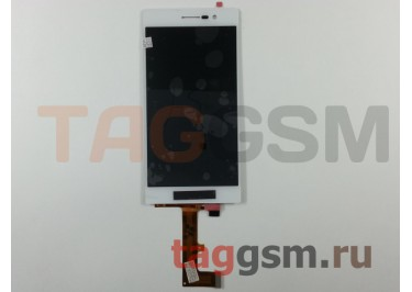 Дисплей для Huawei Ascend P7 + тачскрин (белый)