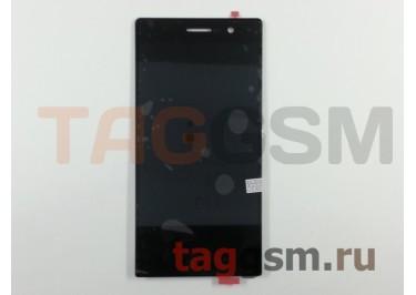 Дисплей для Huawei Ascend P7 + тачскрин (черный)